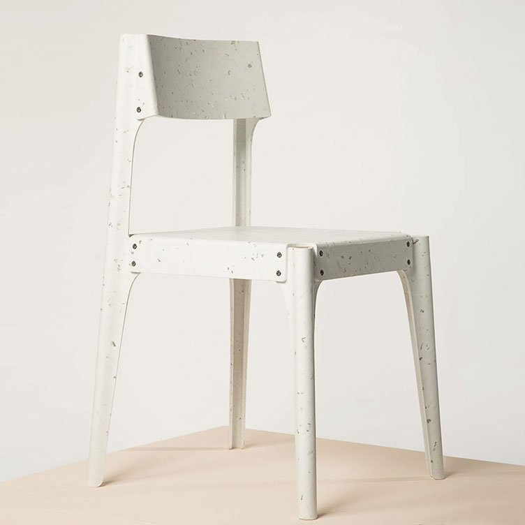 Chair by Alexander Schul. Material: Alba