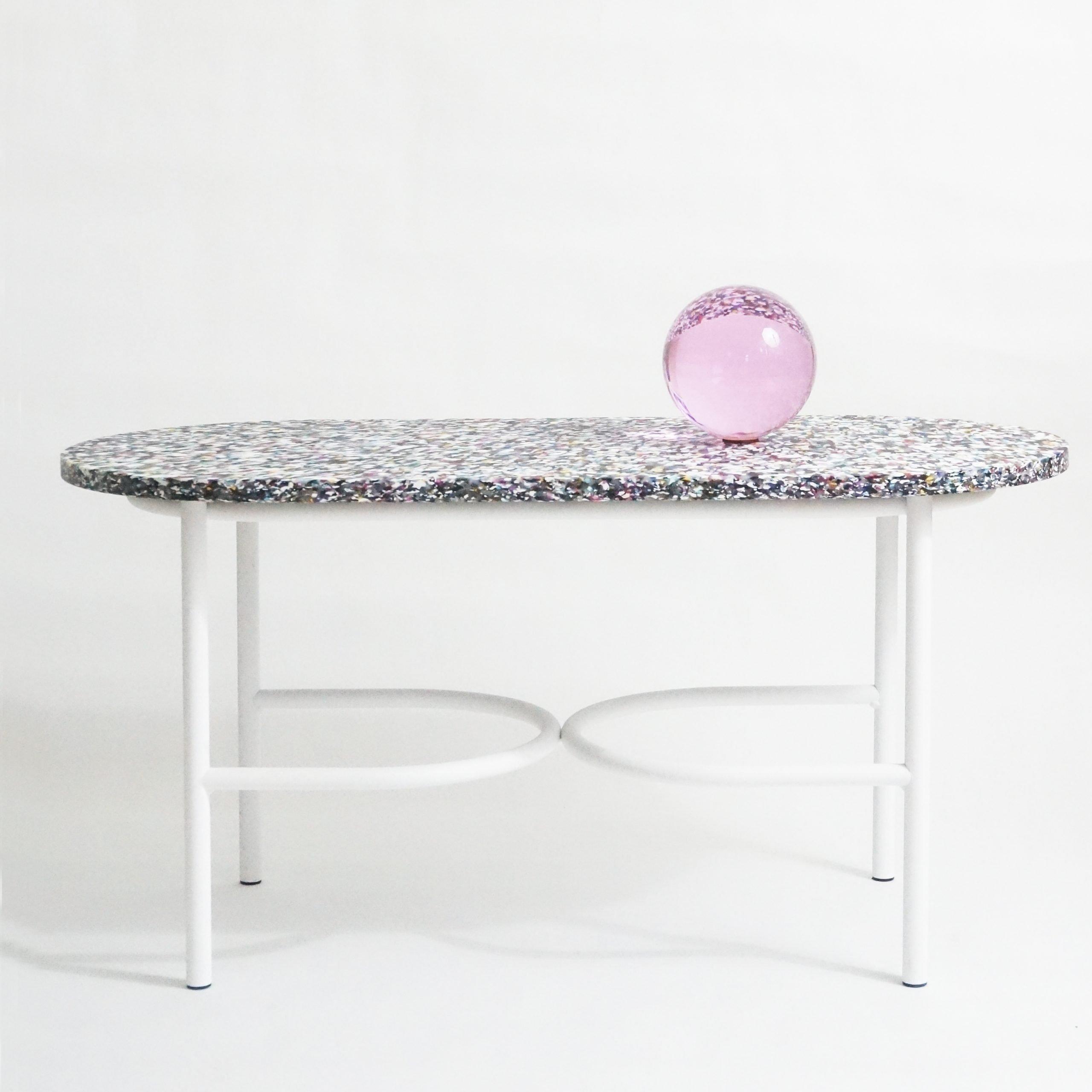 Notebook Sofa Table by Swedish Ninja. Material: Kaleido.
