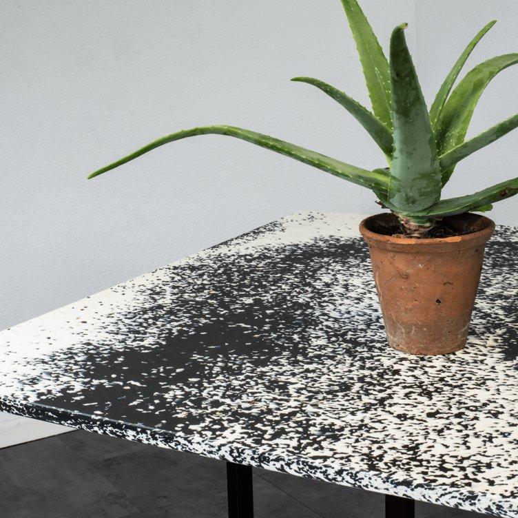 Custom table by SmIle Plastics.