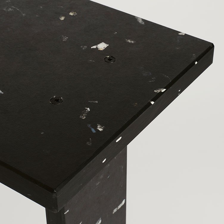 Totem Stool, Ace Hotel by Michael Marriott. Images: Ansgar Sollman Material: Charcoal.