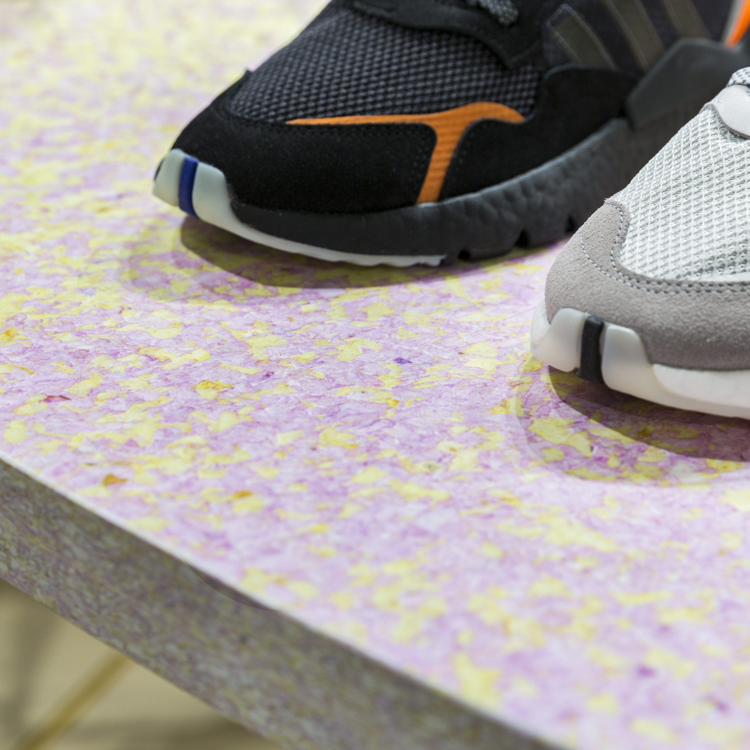 Sneakersnstuff. Custom material and cutting. Image: Courtesy of Bofink.
