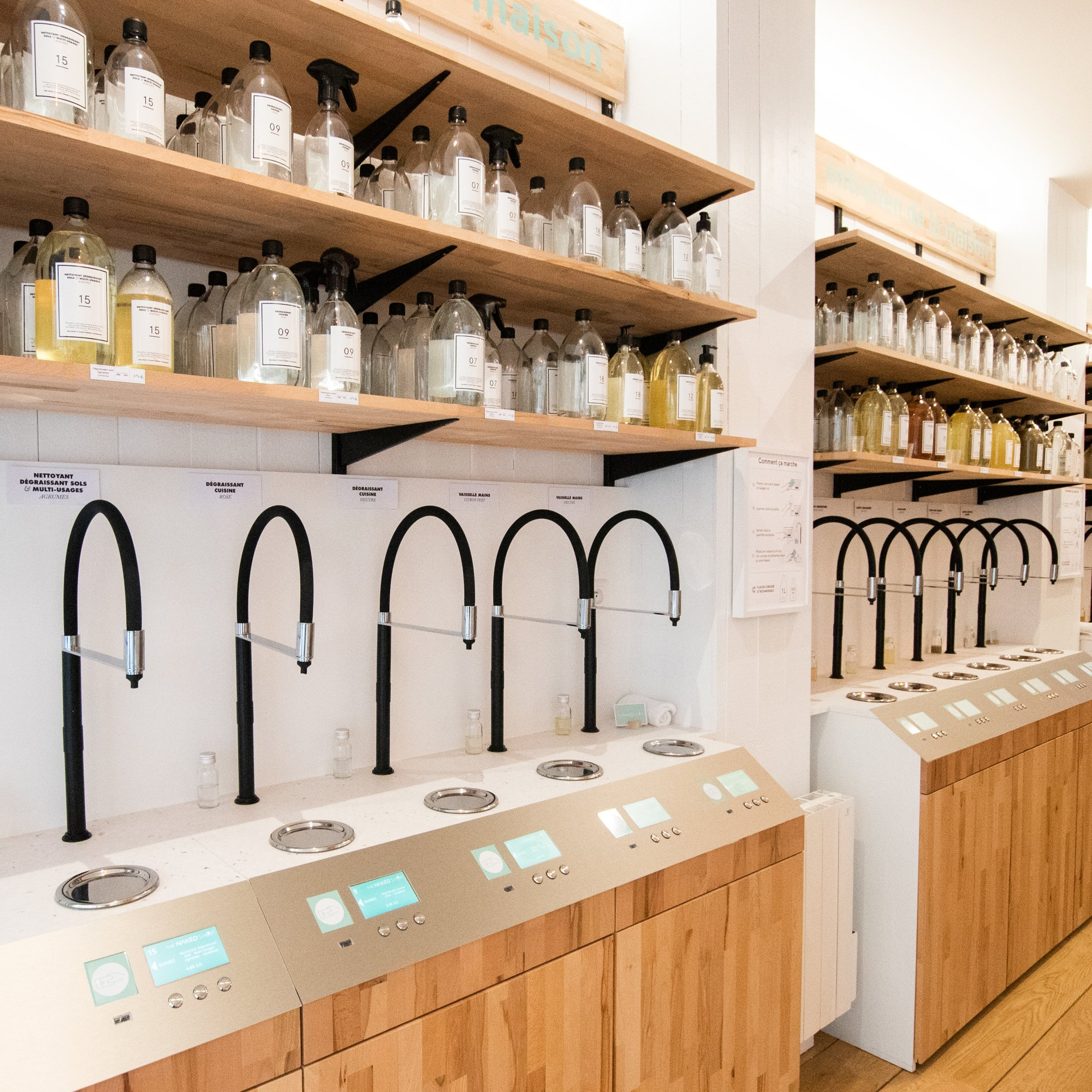 The Naked Shop. Image: The Naked Shop. Material – Alba.