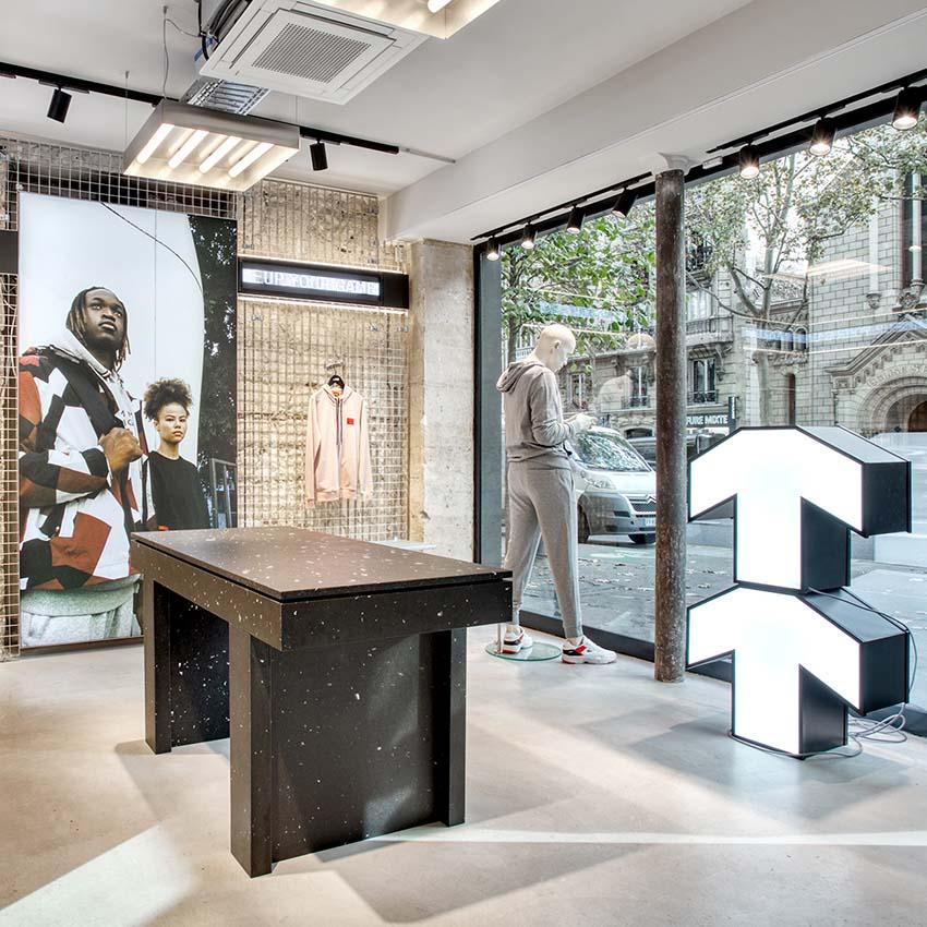 Haut District. Design: Francois Pellan.design and Studio Jacc. Imagery: Perrier Li.