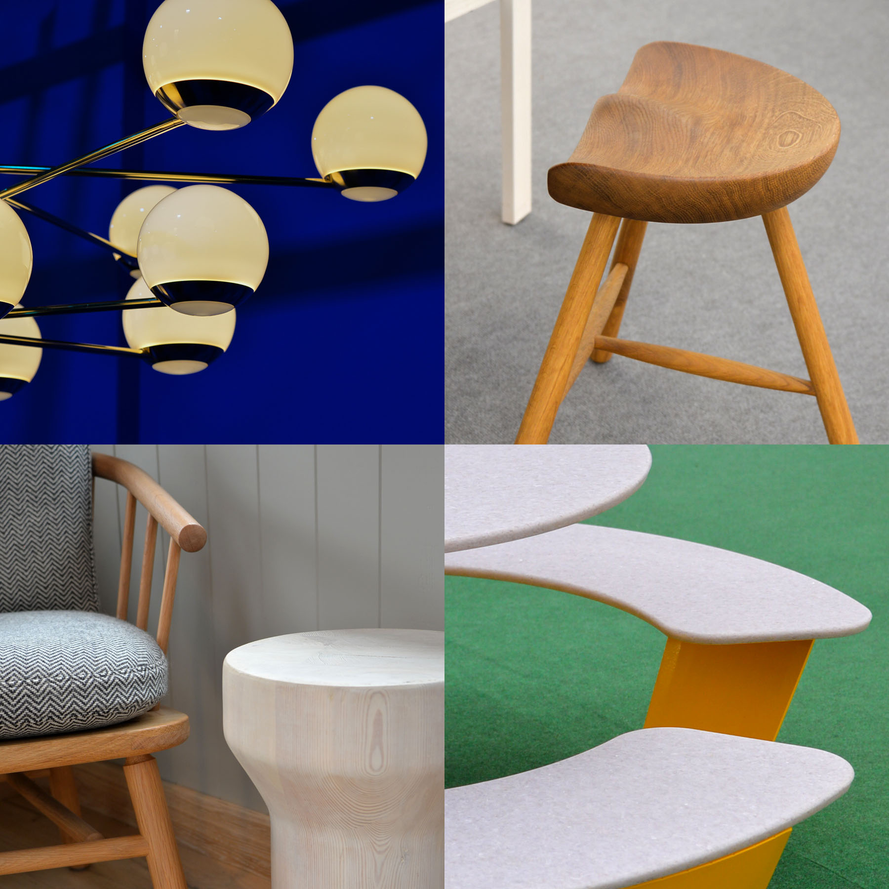 A selection of images from Planted and London Design 2021.